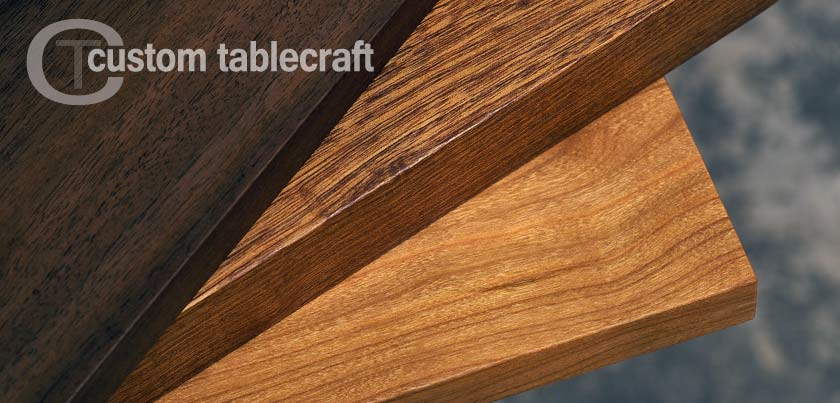 Custom Table Craft Live Edge Tables And Hardwood Tops - Custom restaurant table tops
